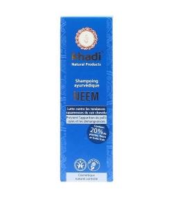 Shampooing anti-pelliculaire ayurvédique BIO neem – 210ml – Khadi