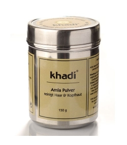 Poudre de lavage ayurvédique pour les cheveux naturelle amla – 150g – Khadi
