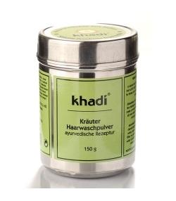 Shampooing en poudre BIO aux herbes – 150g – Khadi