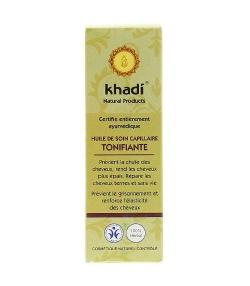Huile de soin capillaire tonifiante BIO – 100ml – Khadi