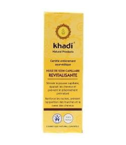 Huile de soin capillaire revitalisante BIO – 100ml – Khadi