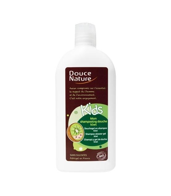 Kinder BIO-Shampoo Duschgel Kiwi – 300ml – Douce Nature