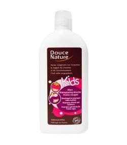 Kinder BIO-Shampoo Duschgel Rote Früchte – 300ml – Douce Nature