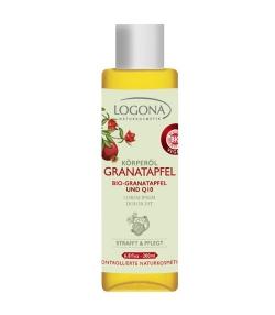 Straffendes BIO-Körperöl Granatapfel & Q10 für anspruchsvolle Haut – 100ml – Logona