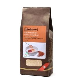 Farine de millet brun BIO – 400g – Biofarm
