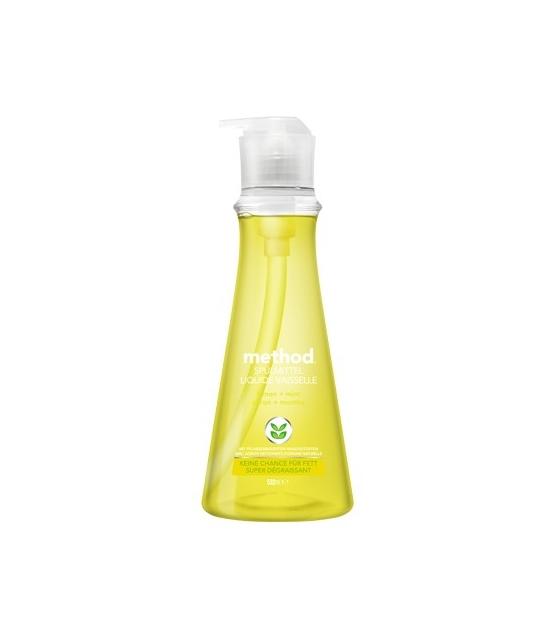 Liquide vaisselle écologique citron & menthe – 532ml – Method