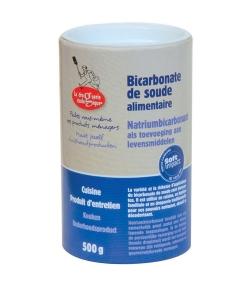 Bicarbonate de soude alimentaire – 500g – La droguerie écologique