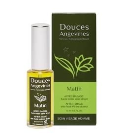 Après-rasage fluide noble homme BIO noisette & jojoba – Matin – 15ml – Douces Angevines