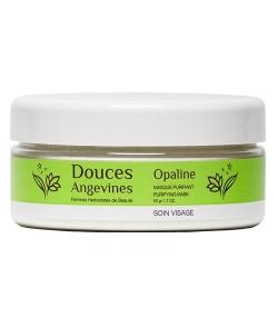 BIO-Reinigungspulver Weisser Ton & Haferschleimcrème – Opaline – 50g – Douces Angevines