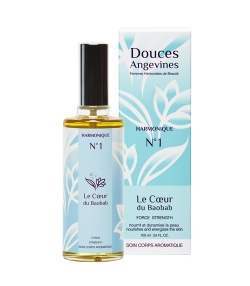 Harmonique BIO N°1 Force sésame & noisette – Le Coeur de Baobab – 100ml – Douces Angevines