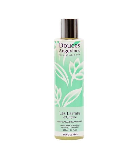 Bain relaxant BIO pin sylvestre & orange douce - Les Larmes d'Ondine - 200ml - Douces Angevines