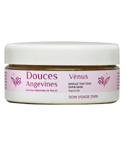 Masque teint divin BIO argile blanche & orge – Venus – 70g – Douces Angevines