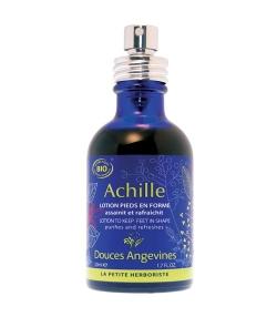 Reinigende & erfrischende BIO-Fusslotion Vetyver & Lavendel – Achille – 50ml – Douces Angevines