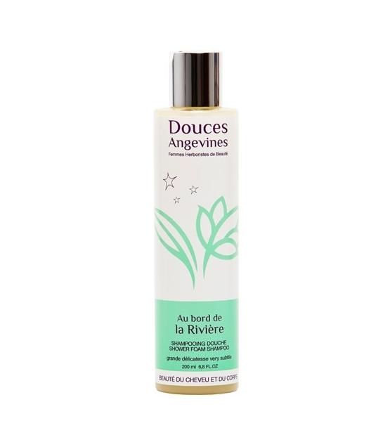 Shampooing douche BIO romarin & mandarine - Au bord de la rivière - 200ml - Douces Angevines
