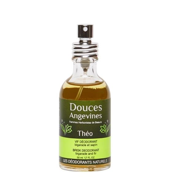 Kraftvolles BIO-Deodorant Spray Rosmarin & Salbei – Théo – 50ml – Douces Angevines